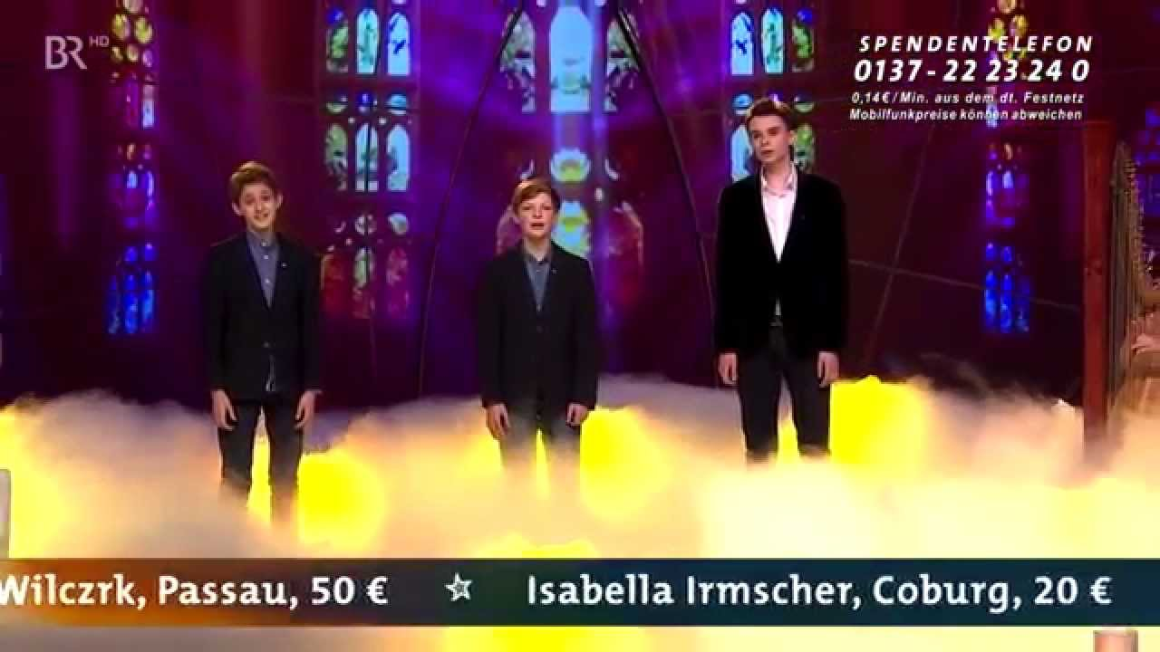 """Augsburger Domsingknaben - Die Chorjungen - """"Morgenlicht leuchtet"""" (BR Sternstunden-Gala 2014)"""