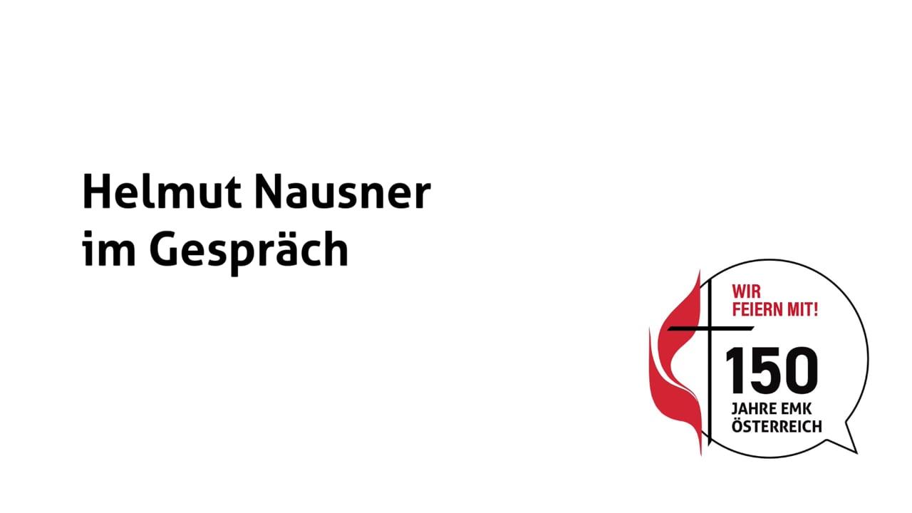 Helmut Nausner im Gespräch